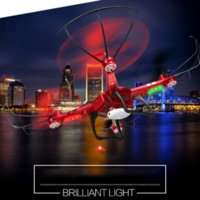 Wholesale 730mah WLTOYS Q222 RC Helicopter Drone Remote Control with LED Light G CH D Roll Flying Saucer Quadcopter Dron