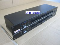 Wholesale DHL shipping professional dual band audio sound equalizer EQ231