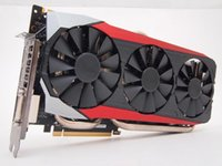 Wholesale ASUS STRIX GTX980TI DC3OC GD5 GAMING LIVING FOR GAME TOP ONE OF TI support DirectX features special optimization for EXTREME calm D