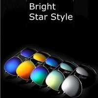 Wholesale WOW Fashion Protection Color film Unisex sunglasses outdoor Driving Eyewear Fashion star of same paragraph Vintage Classic sunglass