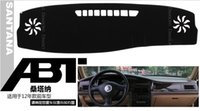 Wholesale VW Santana High quality Console Avoid light pad dashboard protection pad Embroidery section