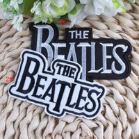beatles patches - 2016 New Beatles Band Iron On Embroidery Patches Designs Biker Patches For Clothing Apparel Sewing Applique Logo Patch