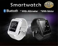 Wholesale Smartwatch U8 Uwatch wirst watch U8 Pro Bluetooth Watch For IOS Android iPhone Samsung Touch Screen