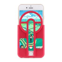 aiming games - New Aimer Aim Assist Plate for Popular Game Silicone D Printed Pokeball Guide Sight for iPhone S Plus S Plus