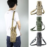 Wholesale 800ml Military Tactical Molle Camping Hiking Water Bottle Bag Camouflage Pouch Carrier Dependable Performance External Frame Packs