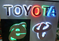 Wholesale LED logo signs D channel letter brand characters alphabet signage backlit sign