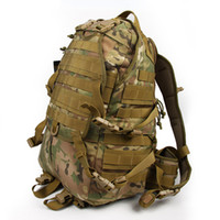 assault packs sale - Hot Sale Outdoor Molle Tactical Assault Bags Camping Hiking Camouflage Backpack With Additional Pack for Athletic Hunting CL5