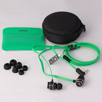 bass electronic music - Razer earphone Adaro In ear headphones Poseidon ear headphones sports headphone bass music on headphones green game line Electronics