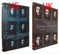 Wholesale Hot Game of thrones season DVD set UK US version Region Region Brand New Sealed DHL Shipping Factory Price