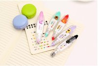 Wholesale 12pcs korean cute correction tape kawaii stationery for student school supplies DIY Scrapbooking Stickers
