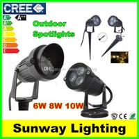 led lawn light - Outdoor LED Garden Spot lights W W W LED Floodlights Wall Yard Path Pond LED Lawn Light Landscape Lighting Lamps V V