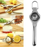 Wholesale Top Sale Kitchen Bar Stainless Steel Lemon Orange Lime Squeezer Juicer Hand Press Tool