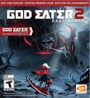 Wholesale Hot Sale Video Games God Eater Rage Burst Factory Sealed