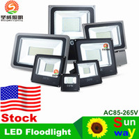 100w led - Stock In US Led Floodlight V W W W W W W LED Landscape Led Outdoor Flood Light Waterproof led lamps CE UL