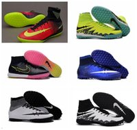 Wholesale Kids Cheap Original soccer cleats elastico indoor superfly hypervenom Shoes cr7 superfly football boots high tops Men HypervenomX Proximo