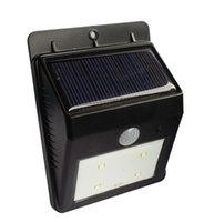 Wholesale Mini Solar Led Garden Lights LEDs with motion sensor in Waterproof Lithium Battery for Outdoor Wall Light