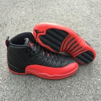 authentic retro jordan - Air Jordan Retro Flu Game Authentic Famous XII Jordan s Shoes Sneakers Sports Basketball Shoes