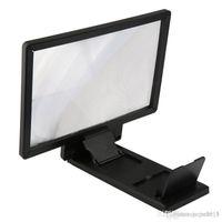 Support de téléphone portable universel 3x agrandissement Téléphone mobile écran grossissement amplificateur oeil nu 3D Video Display Screen