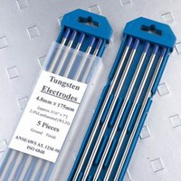 Wholesale 2 Lathanum tungsten electrode for TIG welding torch with sky blue tip WL20 case drop shipping