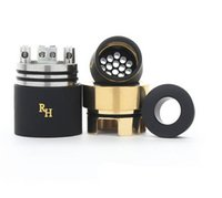 other other Royal Hunter 2016 new Royal Hunter RDA Atomizer RH Rebuildable Dripping Atomizer 22mm Wide Bore Cartomizer Vaporizer Smoke Compatible with all MODs