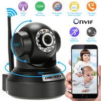 audio control cctv - OWSOO HD H P Surveillance IP Camera Wireless Wifi CCTV Security Pan Tilt way Audio Phone Control Night View Support TF Card S749