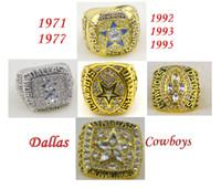 american super bowls - American football all Dallas Cowboys Super Bowl replica championship rings Size solid