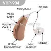 Wholesale Deafness hearing aids Adjustable Digital Hearing Aid Mini digital hearing device VHP China cheap hearing aid manufacturer