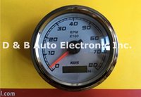 Wholesale High Quality KUS Tachometers RPM Speedometers V V Tuning Meters For Boat Auto White