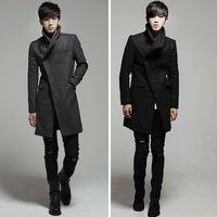 Wholesale Fall New Mens Designer Clothing British Style Trench Coat Autumn Jacket Windbreaker Men Overcoat Casacos Hot sale