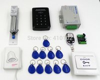 bell access control - Door Bell Touch Button Keypad Door Access Control Kit Electric Bolt Door Lock Remote Control T20