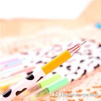 balls art works - color set Milky gel pen Diamond ball pen for school work art DHL