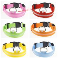 Wholesale 600Pcs New Design LED Flashing LED Pet Collar TB006