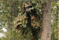 airsoft ghillie suits - Bionic Ghillie Suits maple Leaf Camouflage Hunting Suit Recon Paintball Airsoft Photographing Camouflage