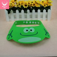 baby shampoo lot - 3pcs Adjustable Baby Shower Cap Protect Shampoo Kids Bath Visor Hat Hair Wash Shield For Children Infant Splashguard