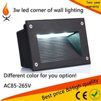 ac step - 10pcs W daywhite LED corn of wall flood lighting outdoor step wall lighting warm white cool white on sale