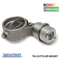 Wholesale Tansky H Q NEW Boost Activated Exhaust Cutout Dump MM Open Style Pressure about BAR TK CUT70 OP BOOST