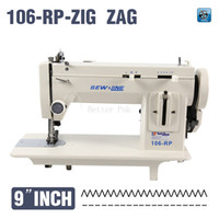 arm sewing machine - 106 RPZ inch arm fur leather fell clothes thicken sewing machine reverse stich and ZIG ZAG function V for long version