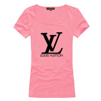 Wholesale Women s short sleeve t shirts Women fashion apparel brand t shirts Cotton letter print t shirt blouses shirts