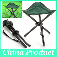 Wholesale Breathable Folding Chair Portable Outdoor Beach Sunbath Picnic Barbecue Party Fishing Camping Tripod Stool Super Light