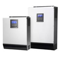 achat en gros de régulateurs de charge hybrides-MPPT Solar Charge Controller Inverter solaire hybride 5000VA 48VDC 230VAC avec Builtin 40A / 60A MPPT Solar Charge Controller