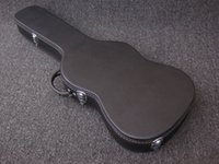 Wholesale Black Guitar hardcase Ship with guitar only not sell seperately