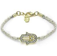 bar in singapore - Hand of Fatima hamsa bracelet Multi Color Wax cord with crystal evil eye bracelet friendship in gold