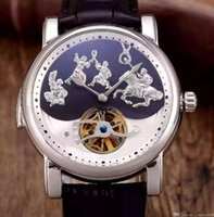 art work toppings - Special New ULYS Excellent Perfect Works AAA Top Quality Switzerland Mechanical Watches Men Luxury Brand Men Wristwatch Art Relief Watch