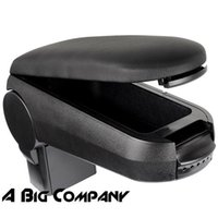 Wholesale VW JETTA BORA GOLF ARMREST CONSOLE STORAGE BOX BLACK LEATHERETTE
