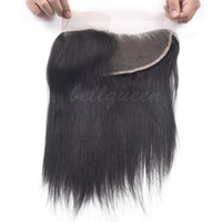 Wholesale 8A Indian Hair Straight Lace Frontal Closure x4 quot Free Part Straight Hair quot Ear to Ear Lace Frontal Closure
