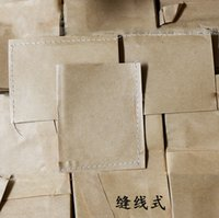agriculture bag - 100pcs Kraft Paper Bags Seeds Bag Seeds Storage Bags for Agriculture Seeds Garden Products Cowhide Paper Seed Bags Sewing