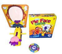 pies - DHL Fedex Parent Child Games Korea Running Man Pie Face Game Pie Face Cream new Children Novelty Interest Paternity Toys pie face C357