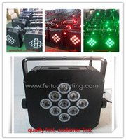battery powered led uplights - pieces led flat par light wireless battery powered led uplights x3w rgb in1 led stage lights