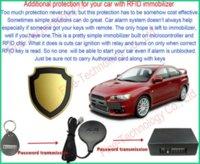 Cheap brand new free shipping RFID key fob transponder immobilizer car accessory anti-theft auto-arm car alarm cars black