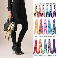 bands fashion handbags - Smallwholesales New colorful Brand fashion twilly scarf handbag handle decoration accessories handbag twilly brand bow hair bands scarves